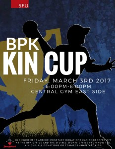 Kin Cup 2017 Poster